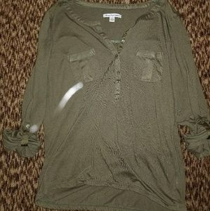 Olive Soft Blouse